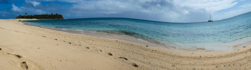 A tropical island all to ourselves, Haapa'ai, Tonga