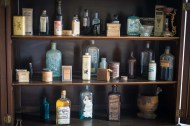 Apothecary's stores in RLS house