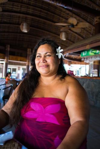 Luna, our hostess in Apia