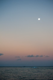 Full moon, Namuka Iki. Surf on three sides of the anchorage...