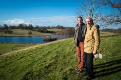 D and his Dad, Robin in Petworth Park