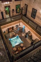 Riad al Mansour - our hotel deep in the medina
