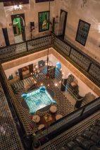 Riad al Mansour - our hotel deep in the medina