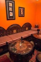 Sitting room at Riad al-Mansour