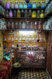Potion shop in the Jewish quarter