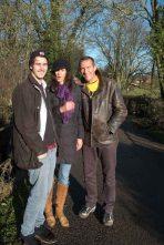 Damian with his sister, Davina and nephew, Grant