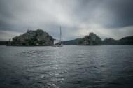 Kalida at anchor