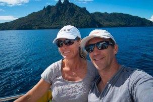 Sailing past Bream Head