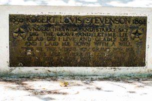 Rober Louis Stevenson's epitaph