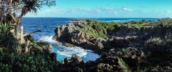Windward side of Kenutu - next stop South America...