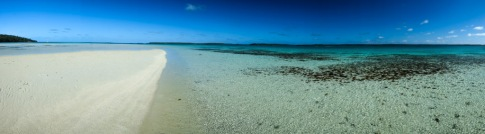 Leeward side of Kenutu Island