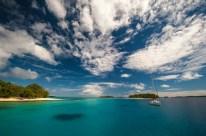 Anchored off Nuku Island