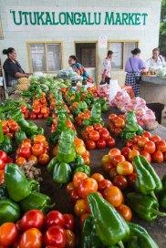 Three Pa'anga per pile at Neiafu Market