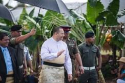 The King of Tonga