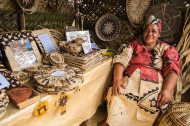 The 'mother' of the revival of traditional basket weaving