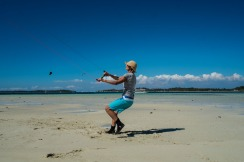 KL setting the fashion standard for kite boarding