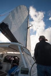 Sailing at last!