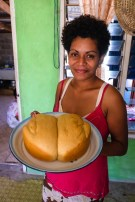 Bread baked to order, Sawa-i-Lau