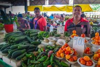 Jenin, my main man in Nadi market