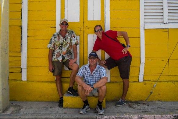 Da Boyz: Mick, Garth, Damian