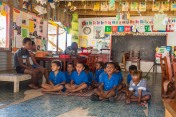 Waya kindergarten put on a performance for us
