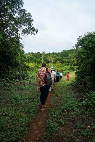 The trek to Church