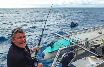 Pete hooks a big'un