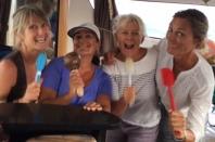 The Girls on kitchen karaoke